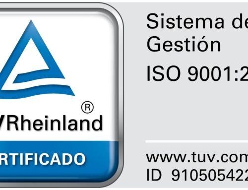 Sag Seguridad S.L obtiene el sello de calidad TÜV Rheinland